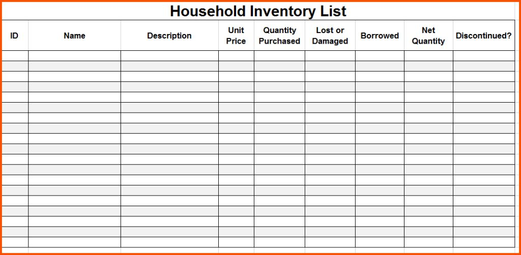 Word Template Checklist - Eliolera - editable checklist template