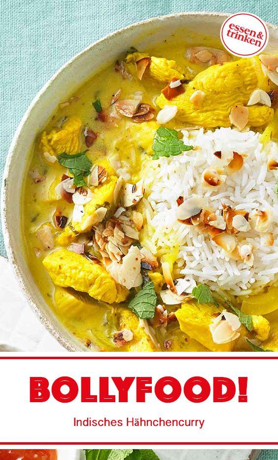 Rezept für indisches Hähnchencurry