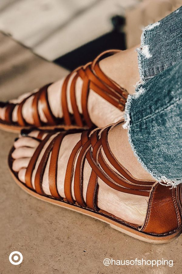 Add sandals, wedges & fashionable shoes to step up your spring & summer outfit game.