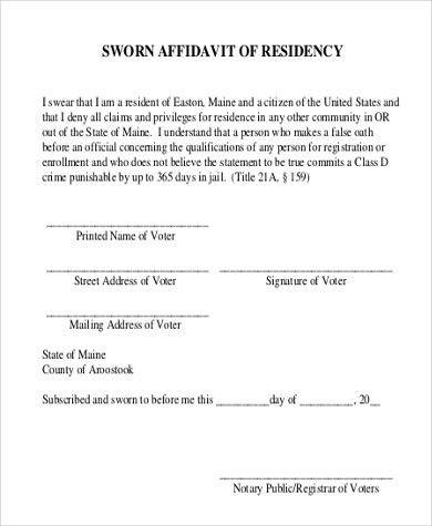 affidavit word template | resume-template.paasprovider.com