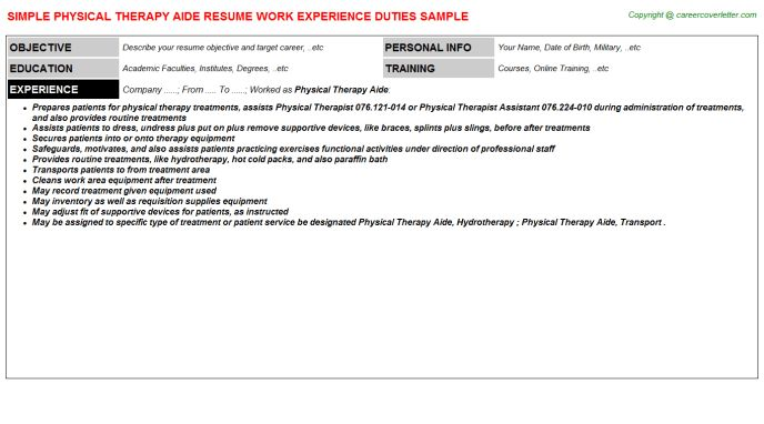 pta resume sample hha resume objective pta resume sample home