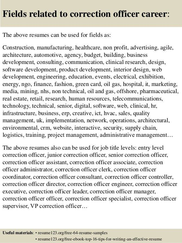 correction officer resume hd wallpapers correctional officer