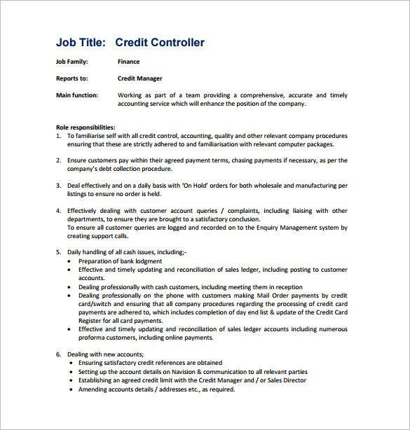 Collection Manager Job Description Top 10 Collections Manager - debt collector job description