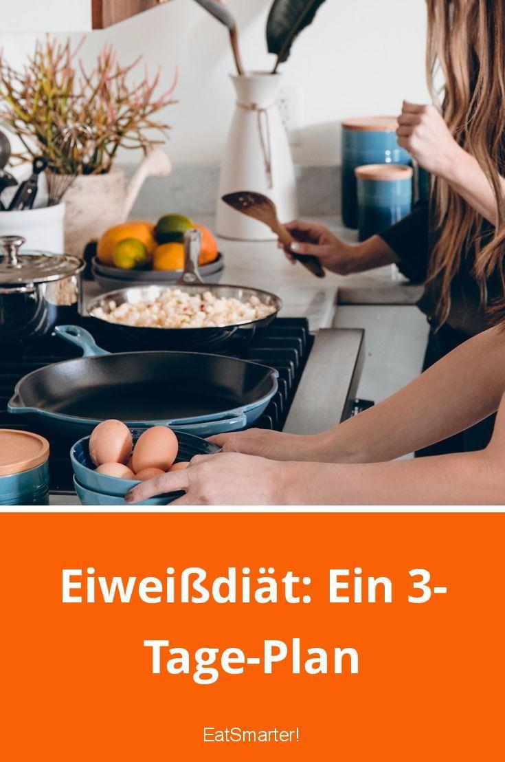 Eiweißdiät: Ein 3-Tage-Plan | eatsmarter.de    #abnehmen #abnehmeneiweiß