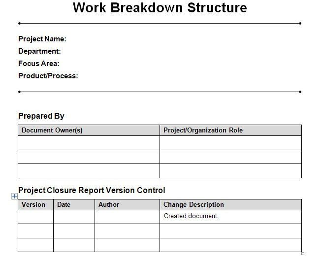 Project Management Templates Word Project Plan Template 12 - project closure report template