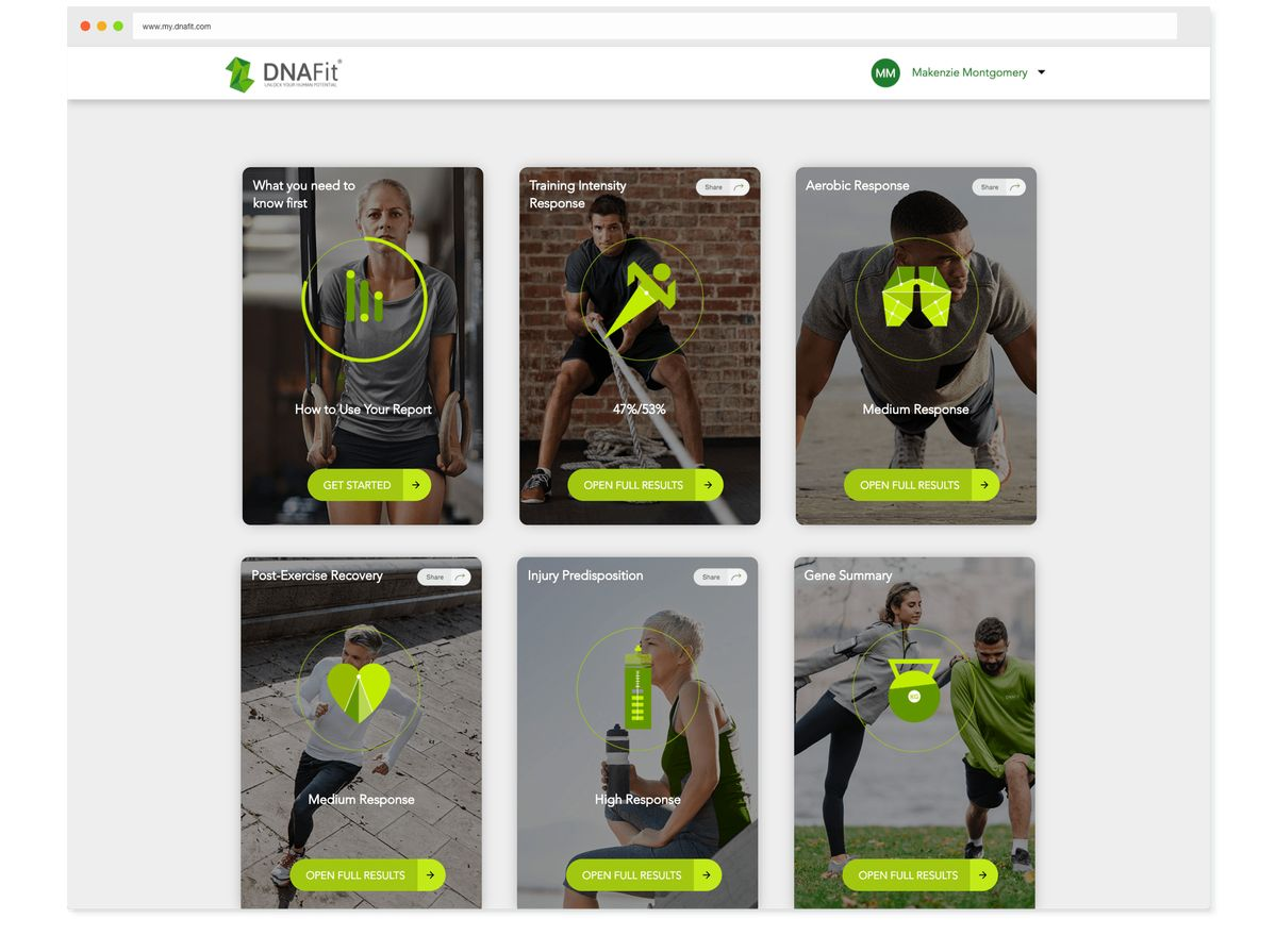Muscle Builder by DNA Fit  Unlock a personalized training program to reach your goals