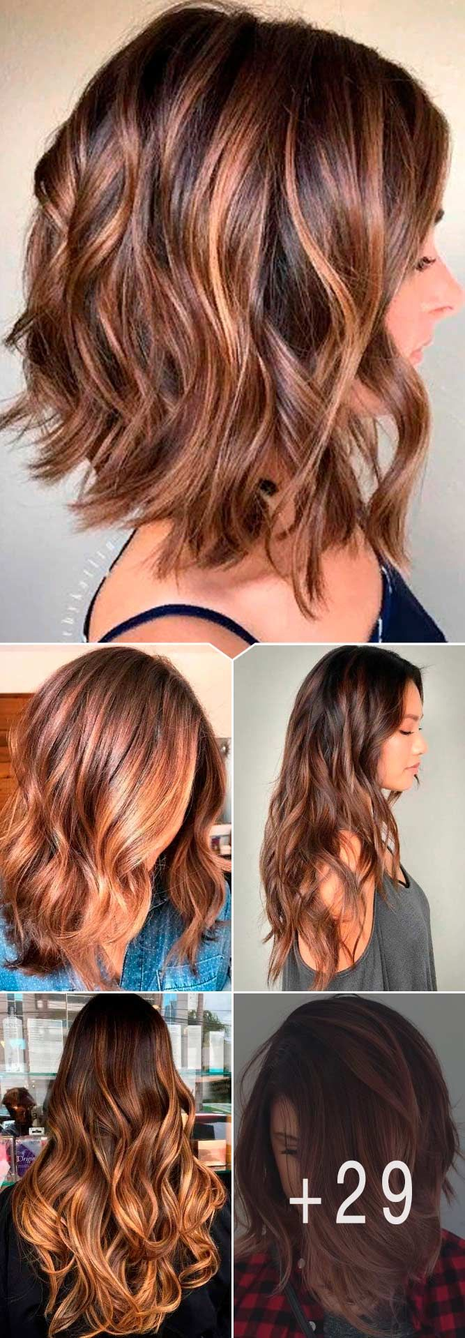 Charming And Chic Options For Brown Hair With Highlights ★ Light and dark brown hair with highlights and lowlights looks spectacular. Discover trendy color ideas for short and long hairstyles. #glaminati #lifestyle #brownhairwithhighlights