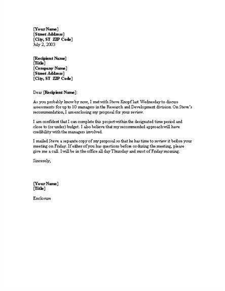 research proposal cover letters