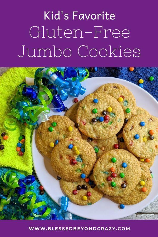 Kid's Favorite Gluten-Free Jumbo Cookies -