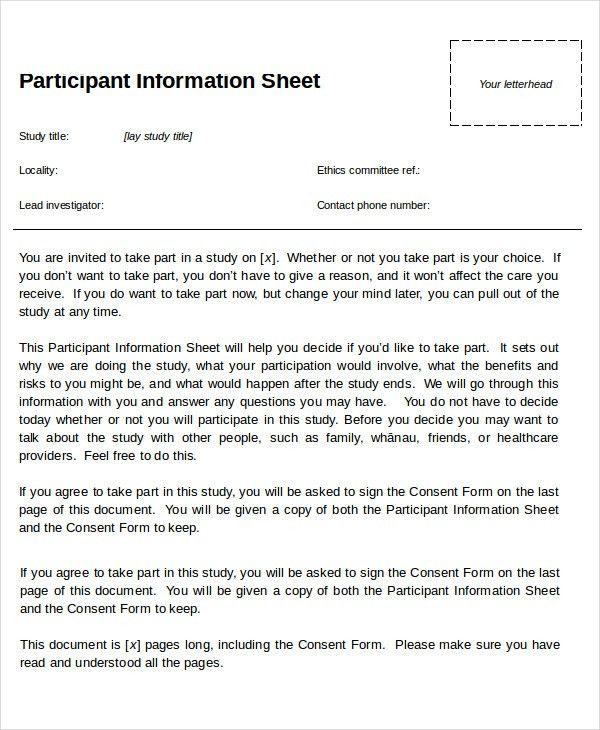 Information Sheets Templates Fact Sheet Template 15 Free Word Pdf - information sheet template word