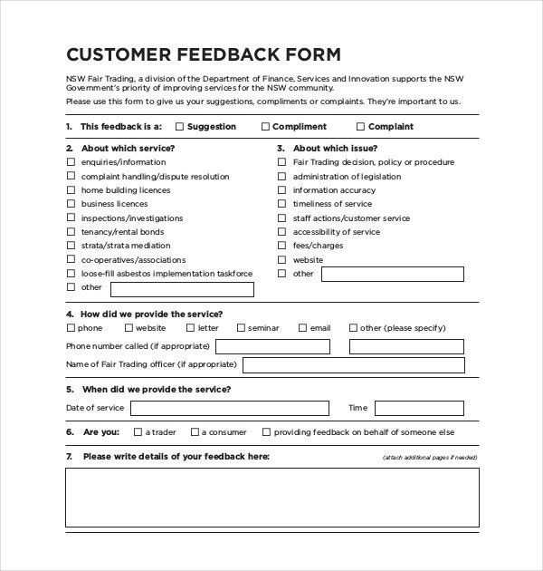 Customer Form Sample | Node2001 Cvresume.paasprovider.com