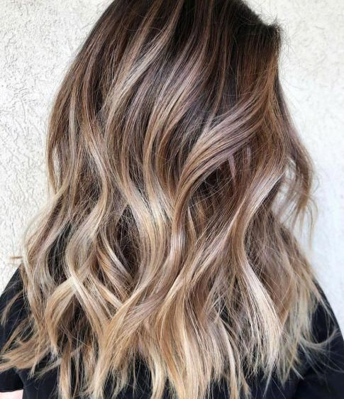 Latest balayage straight hairstyles #blackstraightbalayage