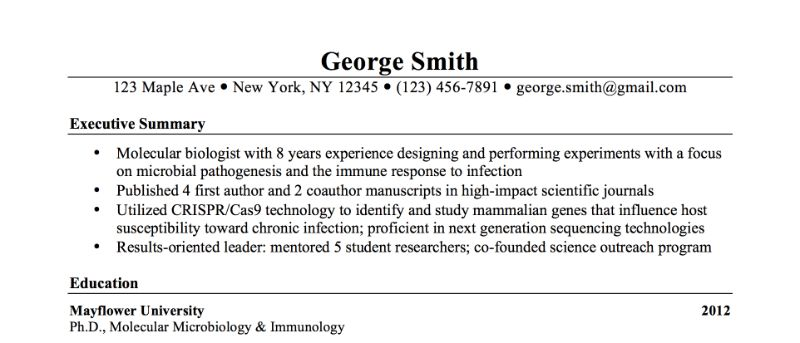 How To Write Summary For Resume How To Write A Resume Summary 21