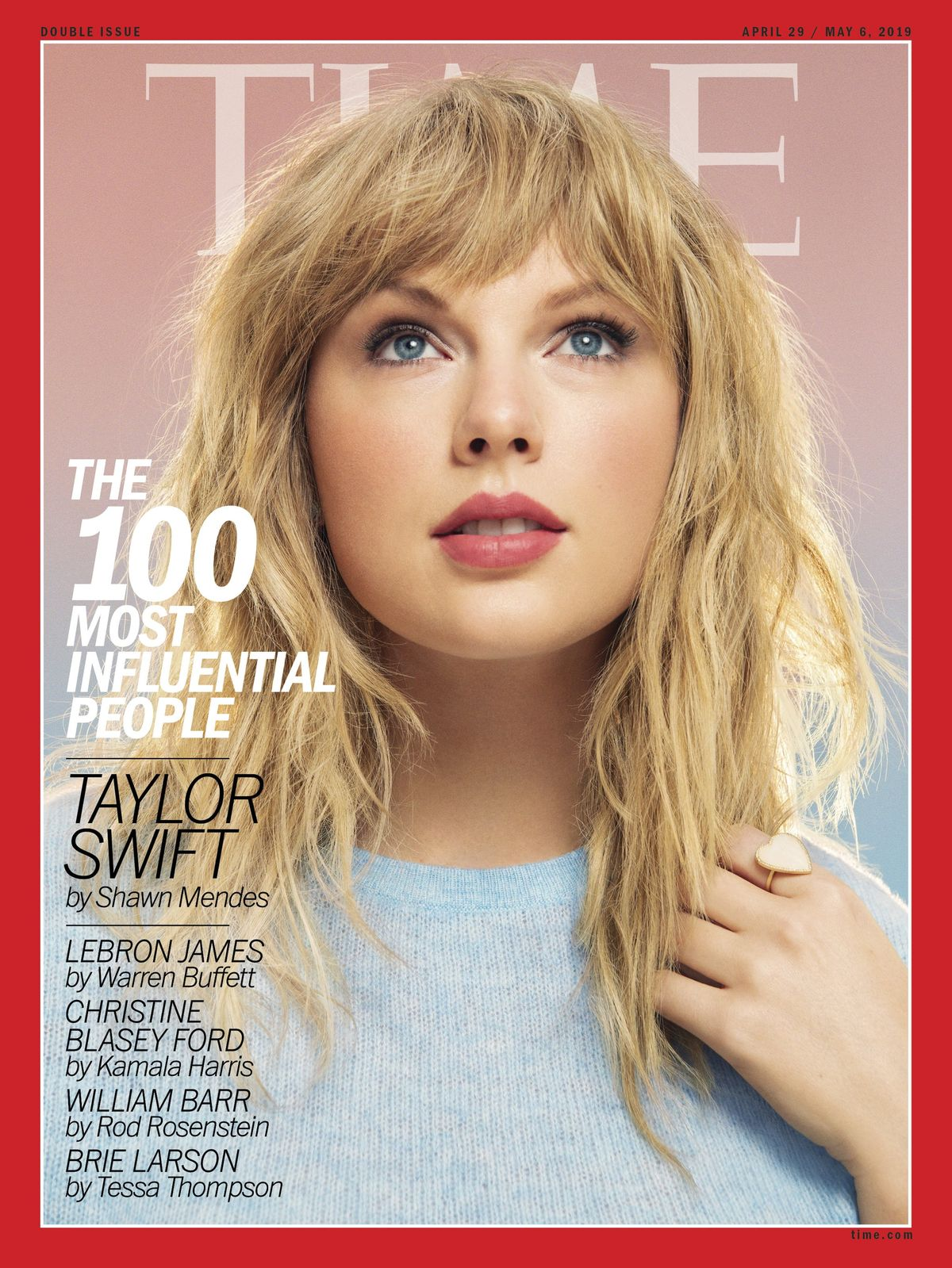 Taylor Swift Makes Time's 100 Most Influential People List