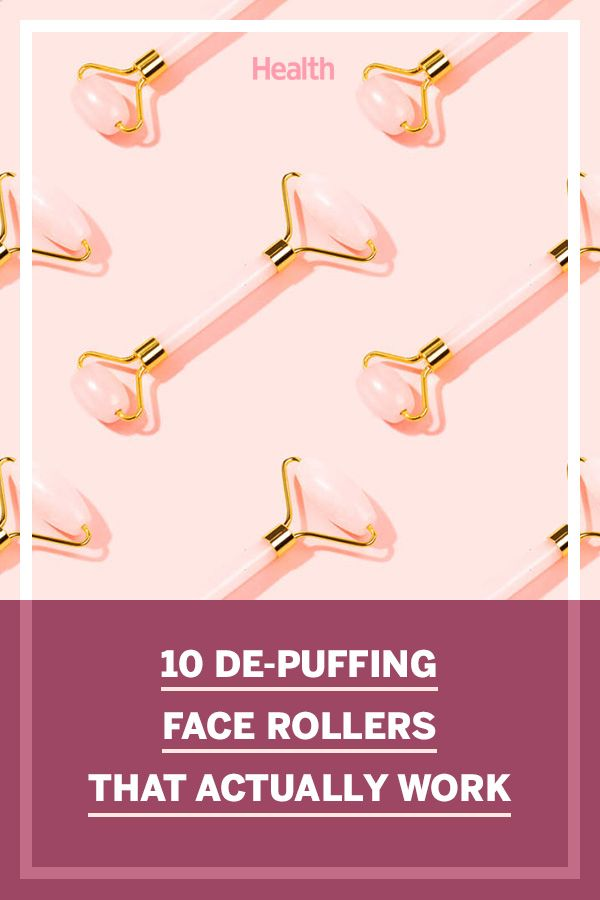 10 De-Puffing Face Rollers That Actually Work, According to Reviewers