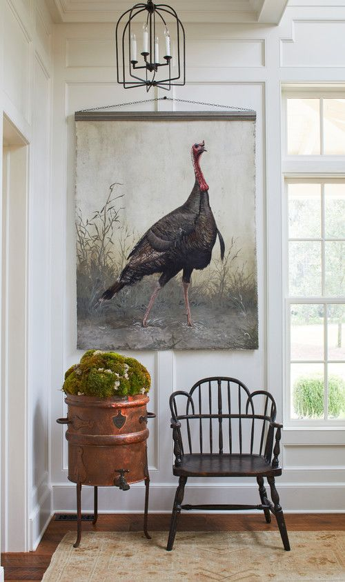 Large Wild Turkey Wall Hanging