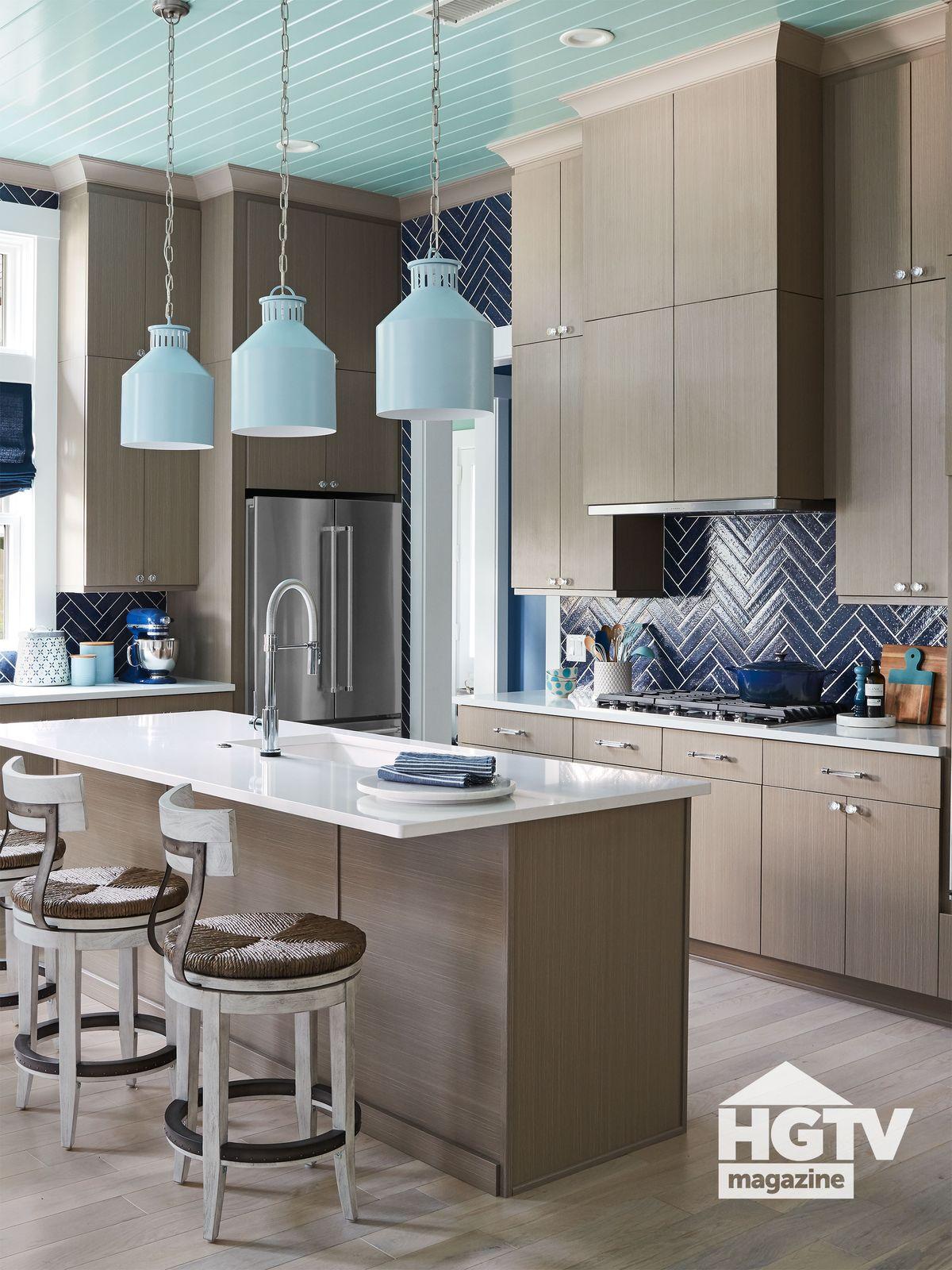 HGTV Dream Home 2020 kitchen featured in HGTV Magazine