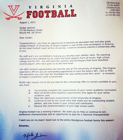 Sample Cover Letter College Football Coach | Cover Letter