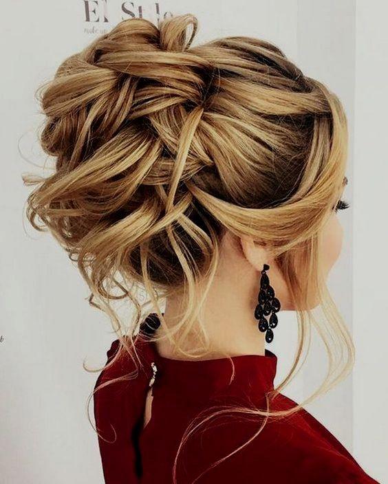 Bridesmaid Hair Half Up