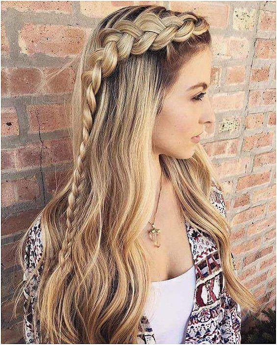 """Side Braids With Open Hair Look  <a class=""""pintag"""" href=""""/explore/EasyBeginnerBraids/"""" title=""""#EasyBeginnerBraids explore Pinterest"""">#EasyBeginnerBraids</a> Click the image for more info<p><a href=""""http://www.homeinteriordesign.org/2018/02/short-guide-to-interior-decoration.html"""">Short guide to interior decoration</a></p>"""