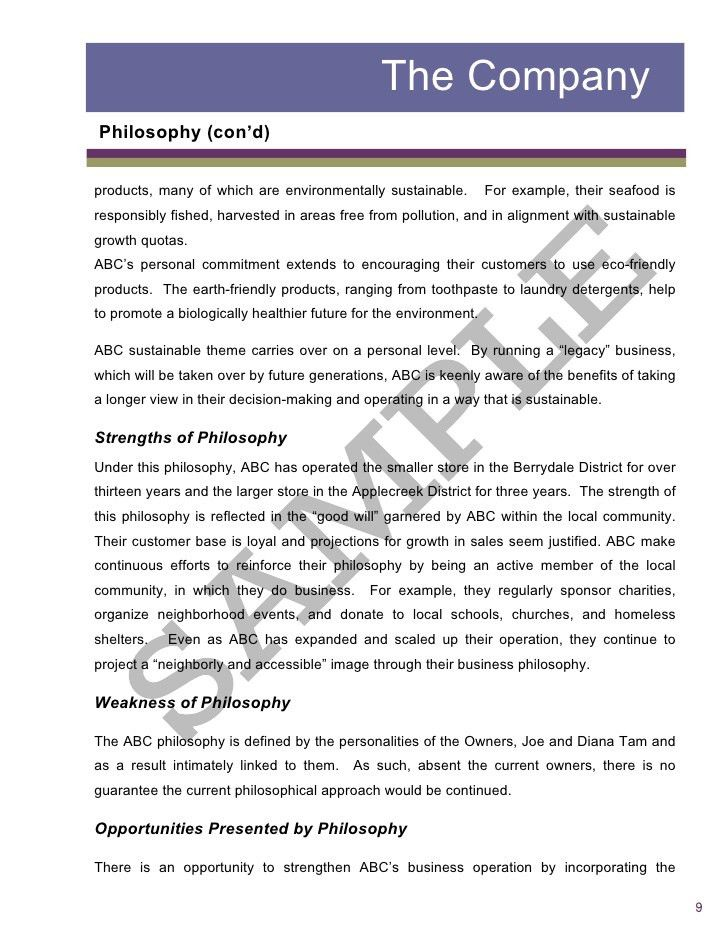 Sample2 Report Business Assessment  Formal Business Report Example