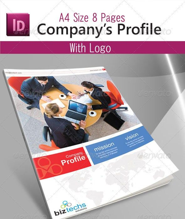 Company Profile By Asif001 | GraphicRiver  Professional Business Profile Template