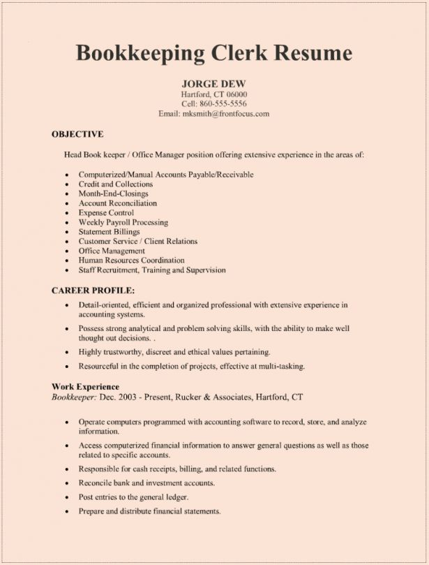 Canadian Resume Format Example Good Resume Template. Resume