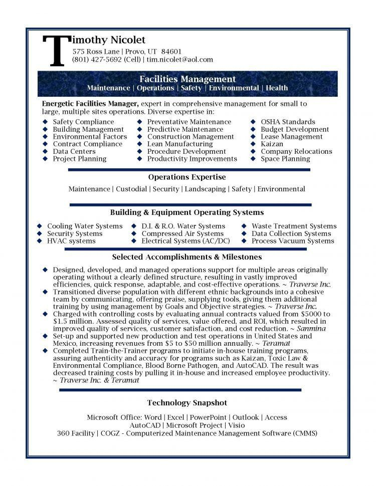 technology manager cover letter