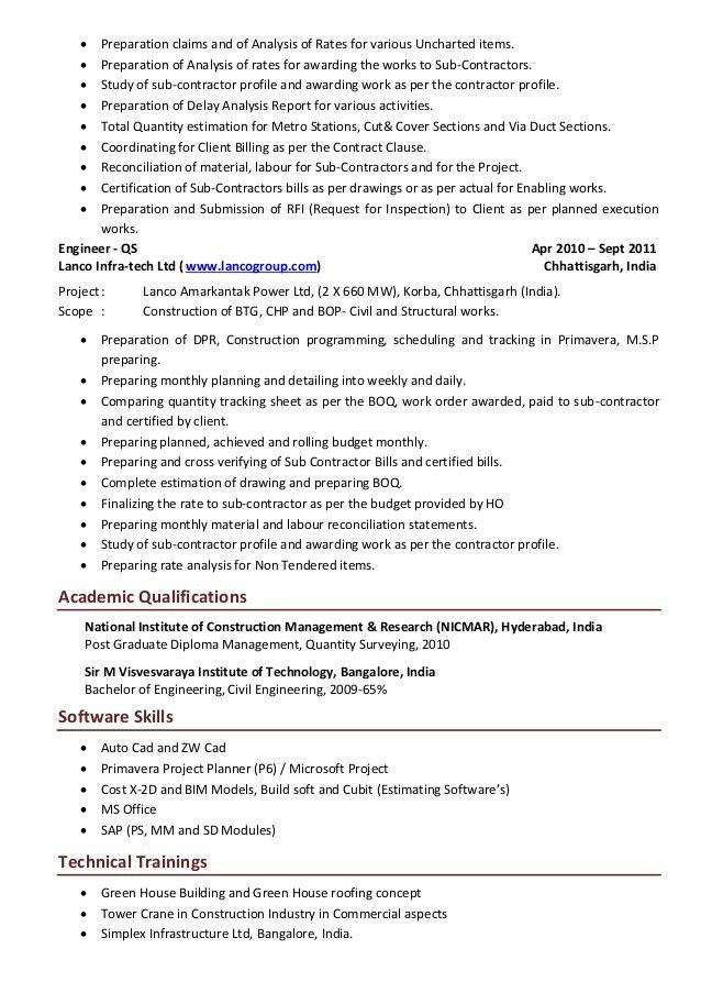 Awesome Construction Inspector Cover Letter