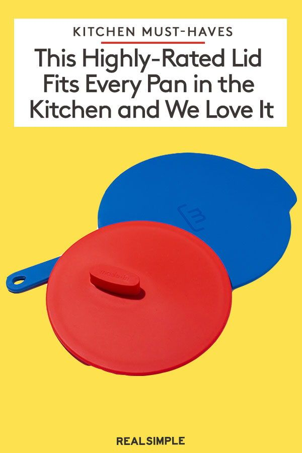 This Genius Lid Fits Every Pan in Your Kitchen to Clear Up Cluttered Cabinets for Good