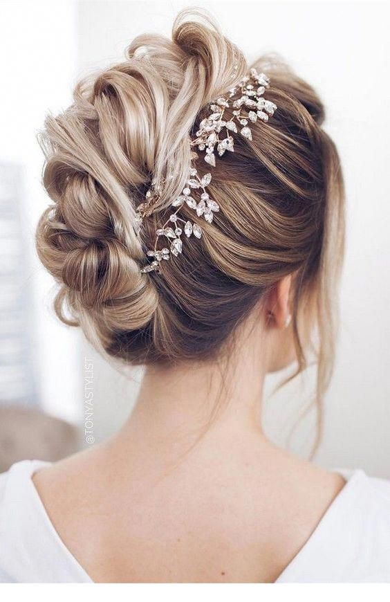 Sweet hair for a bride, I want this hair for my wedding