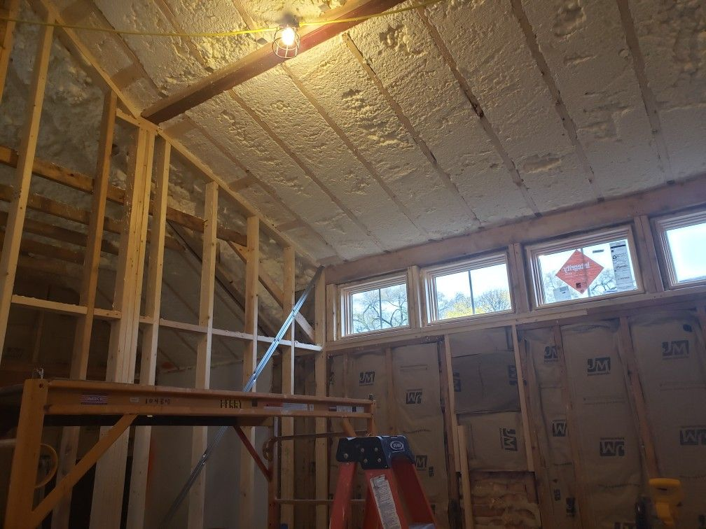 Spray Insulation Cathedral Ceiling Cathedral Ceiling Spray Insulation Ceiling