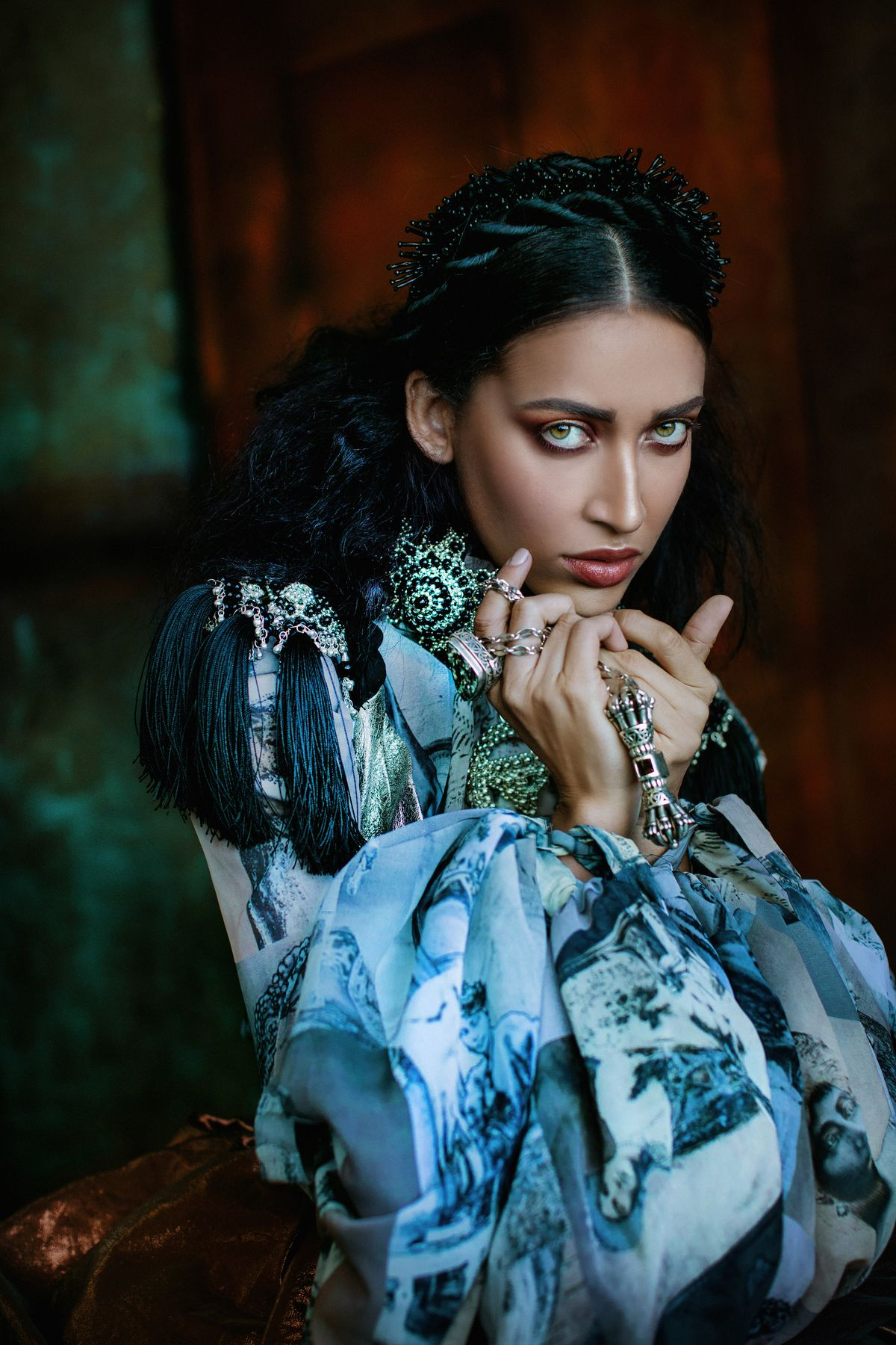 Historically inspired fashion photography by Ekaterina Belinskaya.