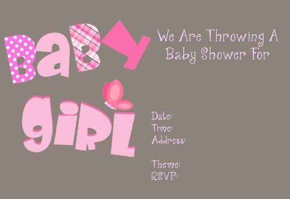 Free Printable Girl Baby Shower Invitations Choice Image - free baby shower invitation templates printable