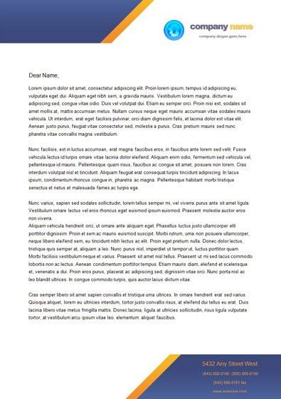 45 free letterhead templates examples company business personal - free letterhead samples