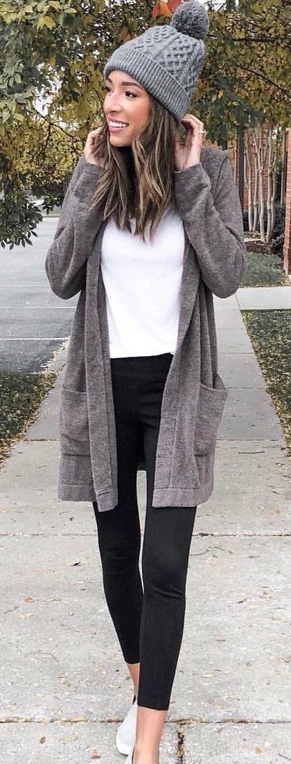 gray beanie