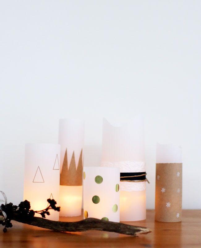 Photophore en papier : idées DIY et tutos | Shake My Blog