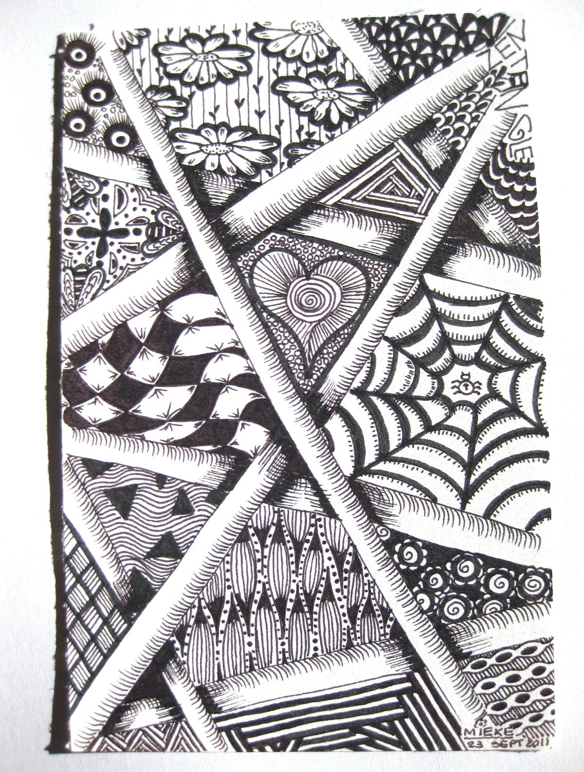 zentangle | Zentangle artwork, Tangle art, Pen pattern