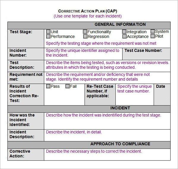 Sample Action Plans In Word action plan template - 14+ free word - sample asthma action plan