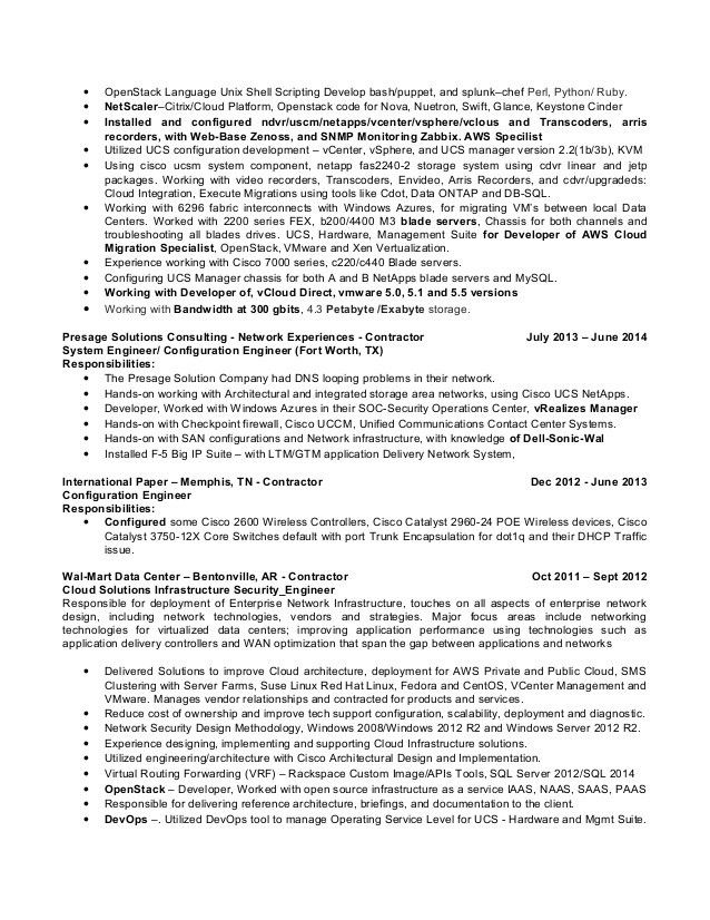 unix engineer resume - Romeolandinez - unix engineer resume