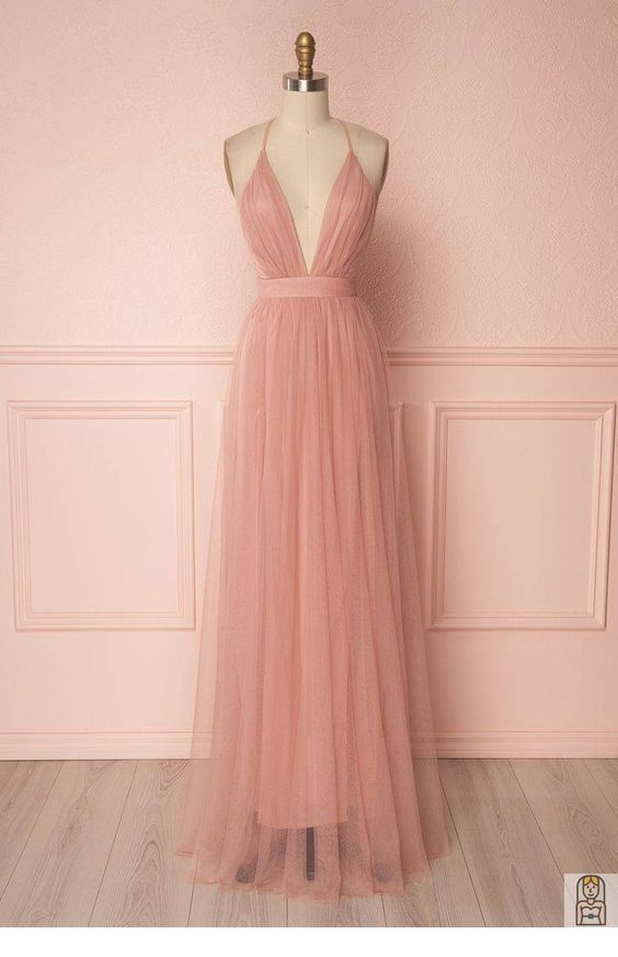 A simple dress from tulle