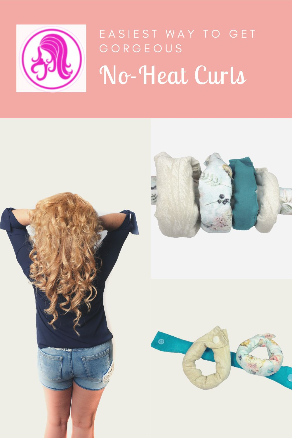 Spring fashion heat free hair rollers for awesome easy curls. No foam or wires are inside our rollers.