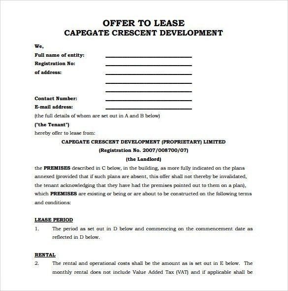 Office Rental Agreement Format Commercial Rental Agreement 11 - sample office lease agreement