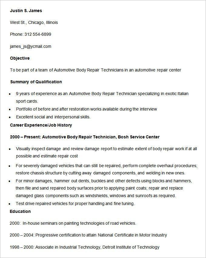 electronic repair technician resume pc technician resume sample 3 - Pc Technician Resume Sample