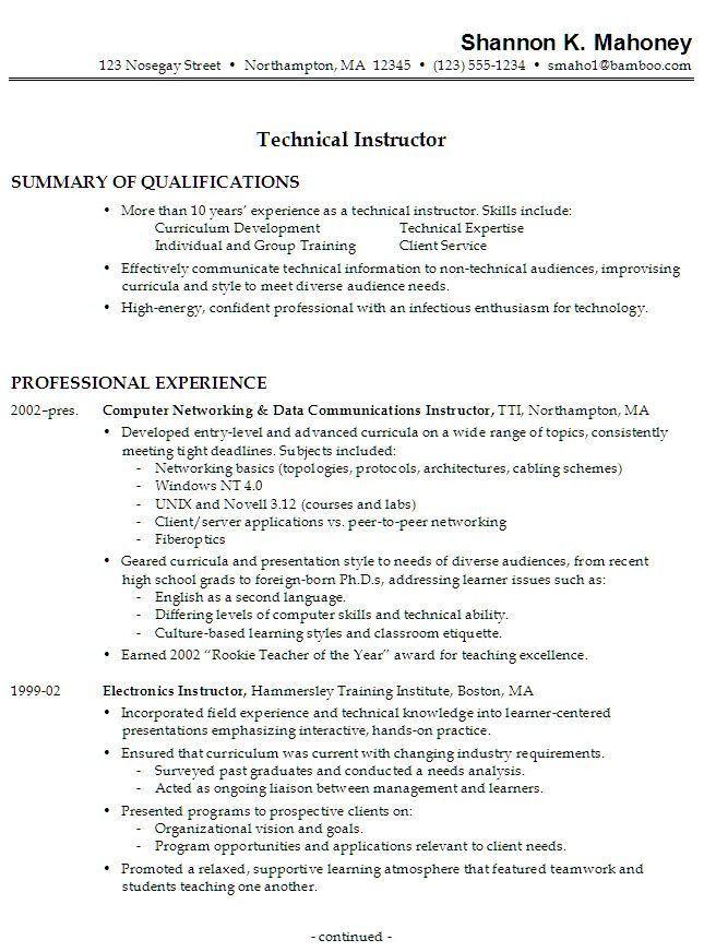 Work History Resume Example Edit Hotspotsedit Hotspots A - employment history template