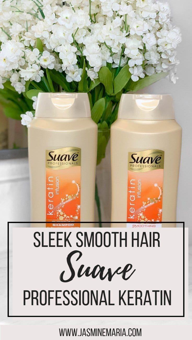 Sleek Smooth Hair with Suave Professionals Keratin Infusion #suavegoldstandard #walmart #sleeksmoothhair #sleekhair #haircare #hairproducts #suave