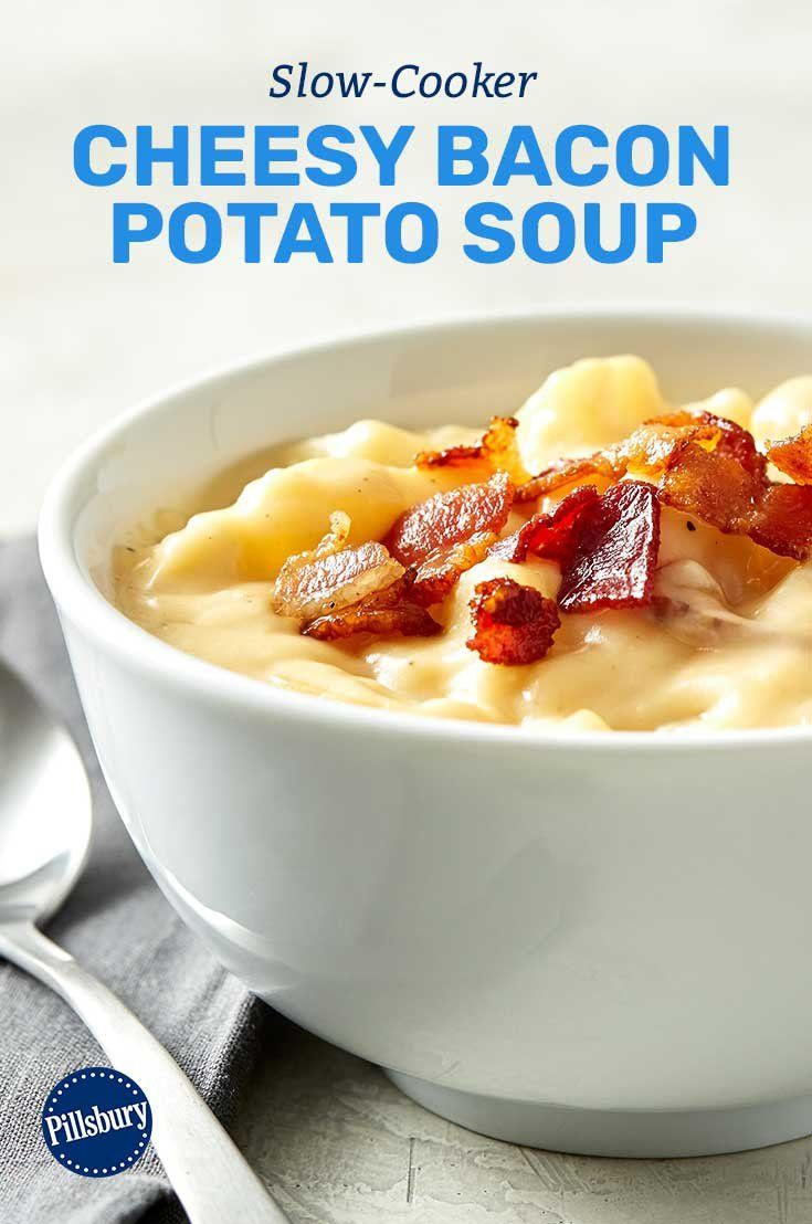 Adding bacon to family-favorite dishes turns them from ho-hum weeknight dinners to majorly flavorful winners! Even picky eaters will be impressed by this easy potato soup.