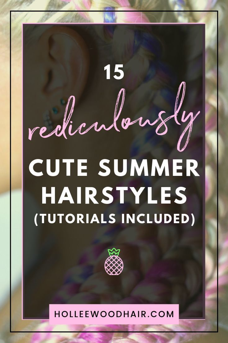 Rock your summer with 15 incredibly cute and super easy summer hairstyles! Whether you're into messy buns, braided updos, or even high ponytails, you can create the perfect summer look with an easy-to-follow step-by-step hair tutorial! #14 on this list is a total game-changer… #Hairstyles #SummerHair #HairTutorials #SummerHairstyles