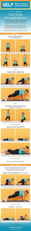 30-Minute Full-Body Dumbbell Workout