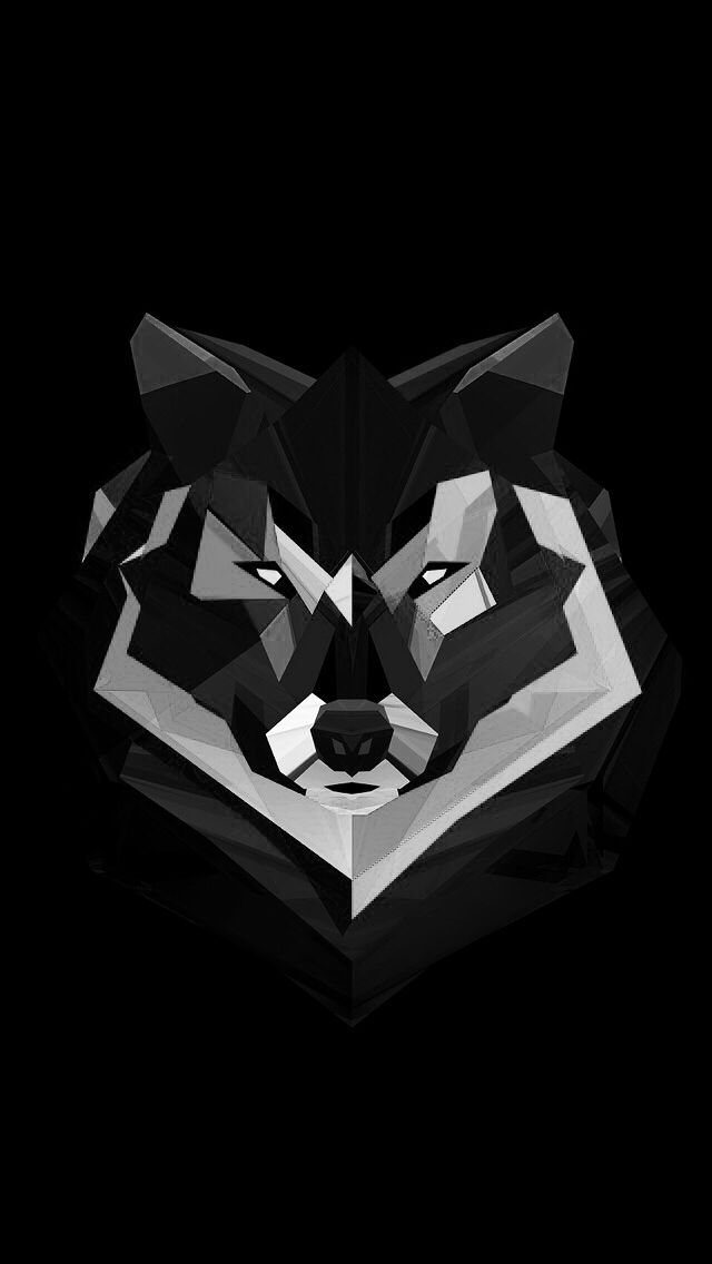 wolf iphone wallpaper